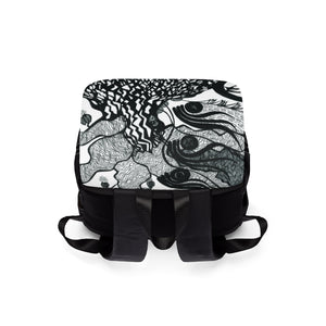 Tree--Unisex Casual Shoulder Backpack
