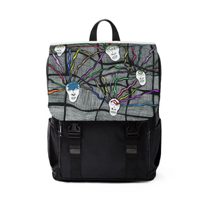 Unisex Casual Shoulder Backpack--Slumber
