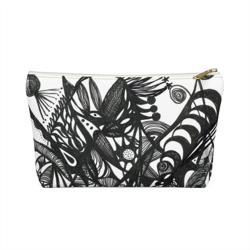 Accessory Pouch w T-bottom--Under a Tree