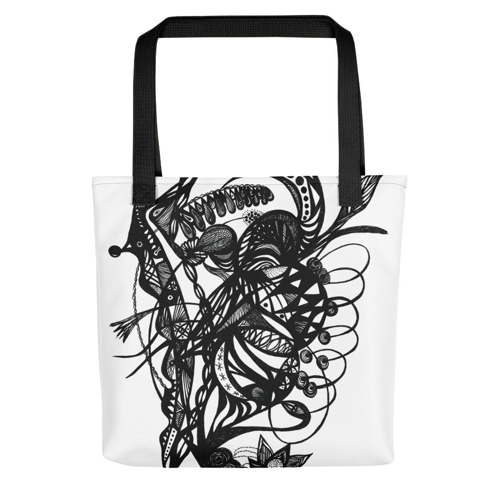 Tote bag--bird