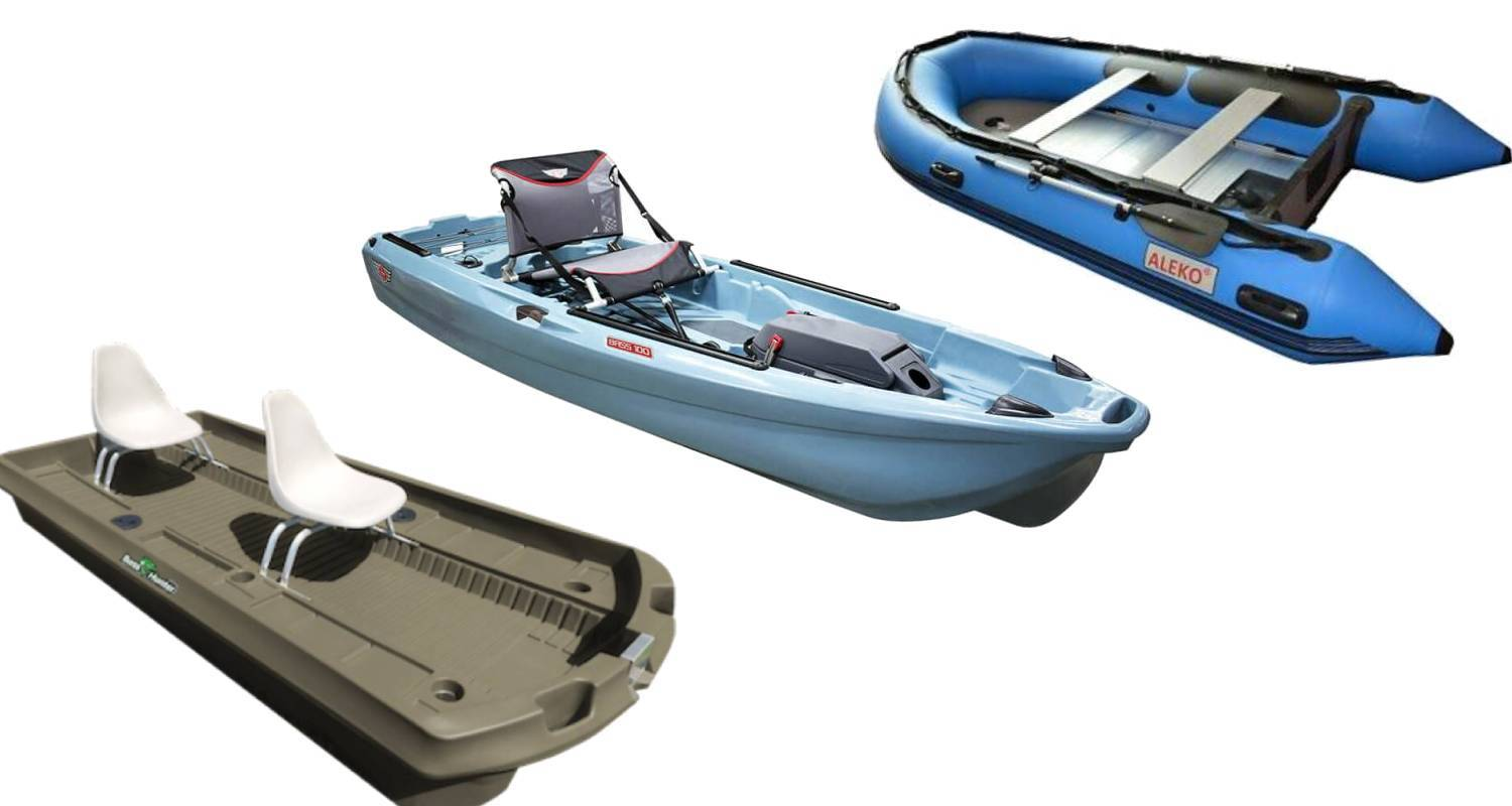 Bass Hunter Boats vs Jonny Boats vs Aleko- The Best Fishing Boat Brands