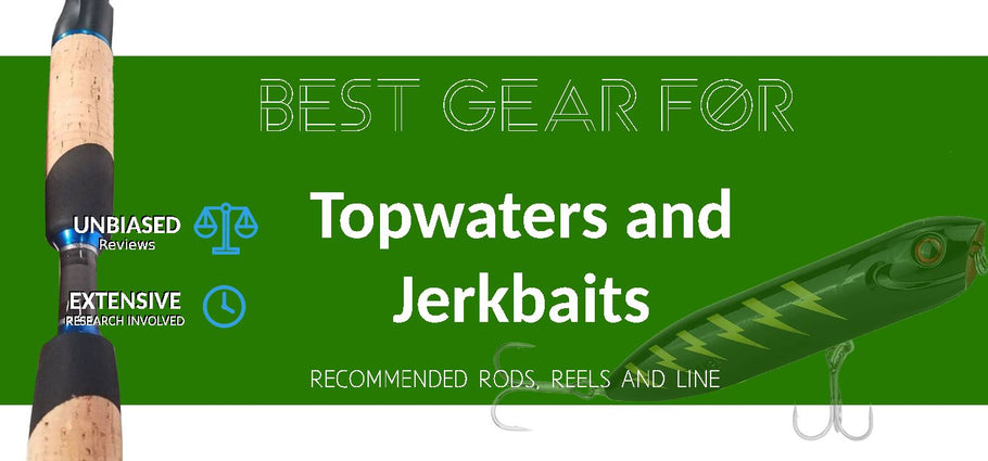Recommended Rod, Reel and Line for Topwaters and Jerkbaits