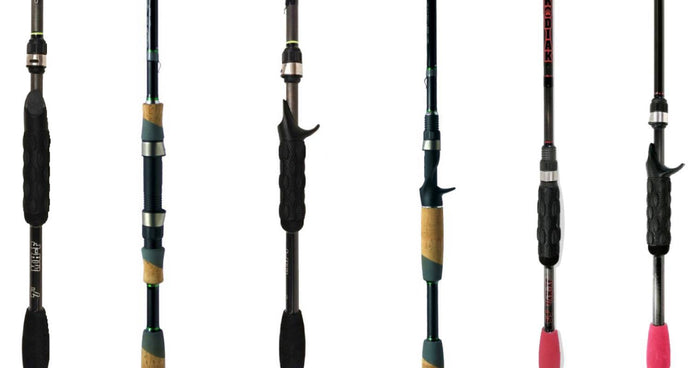 Bass Fishing 6 Rod System (You Must Have These 6 Rods)