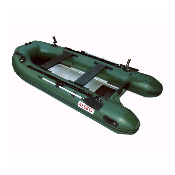 ALEKO PRO FISHING 12.5 FT DARK GREEN ALUMINUM FLOOR
