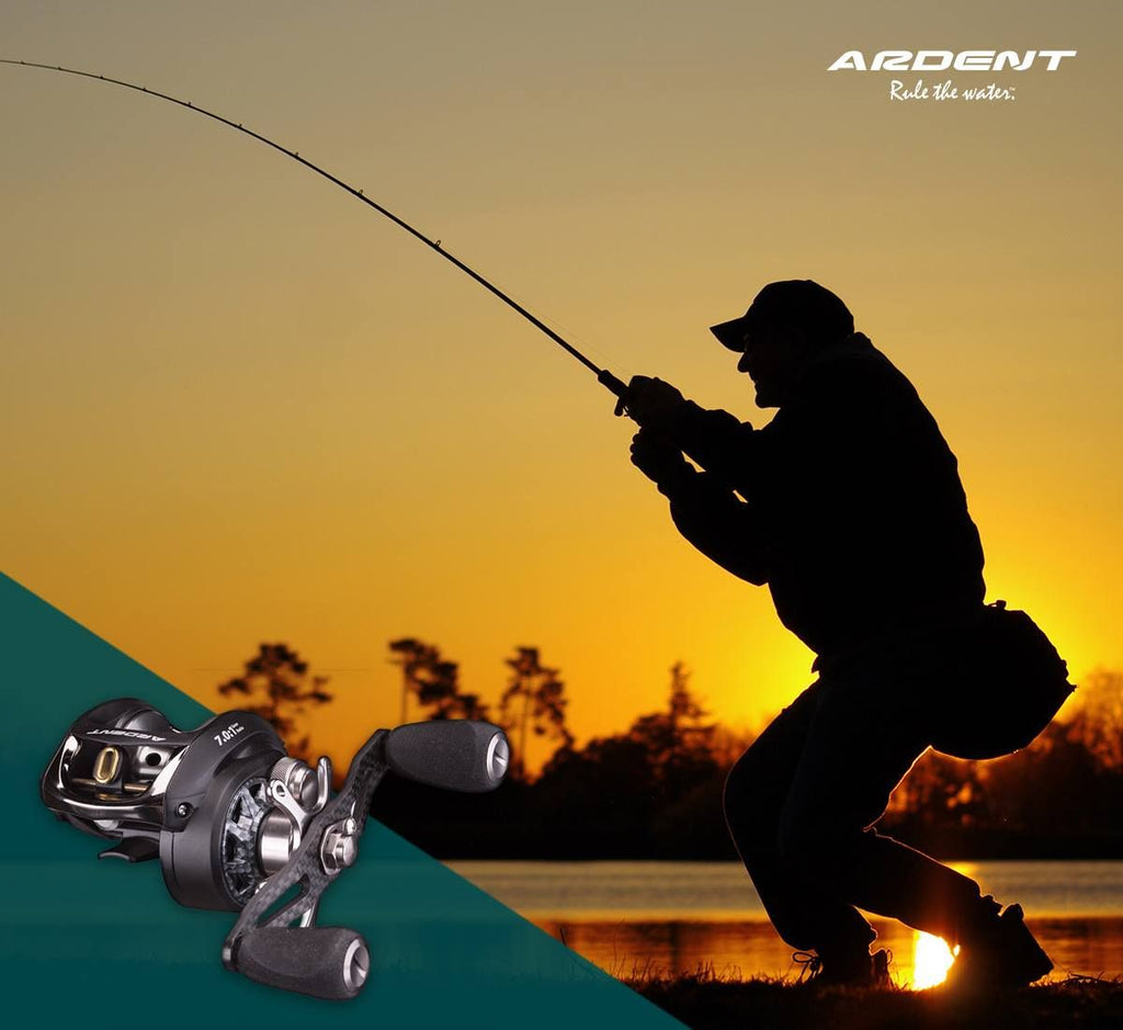 ARDENT OUTDOORS- BAITCASTING AND SPINNING REELS- BANNER