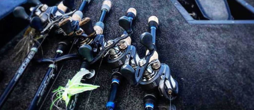 BAITCASTING RODS AND REELS