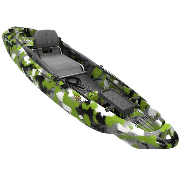 BIG FISH 105 10 FOOT KAYAK GREEN CAMO