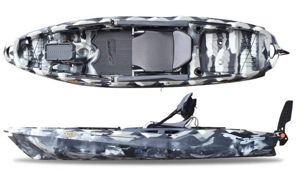 BIG FISH 105 URBAN CAMO 10 FOOT FISHING KAYAK