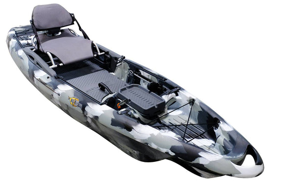BIG FISH 120 BY 3 WATERS KAYAKS 12 FT KAYAK