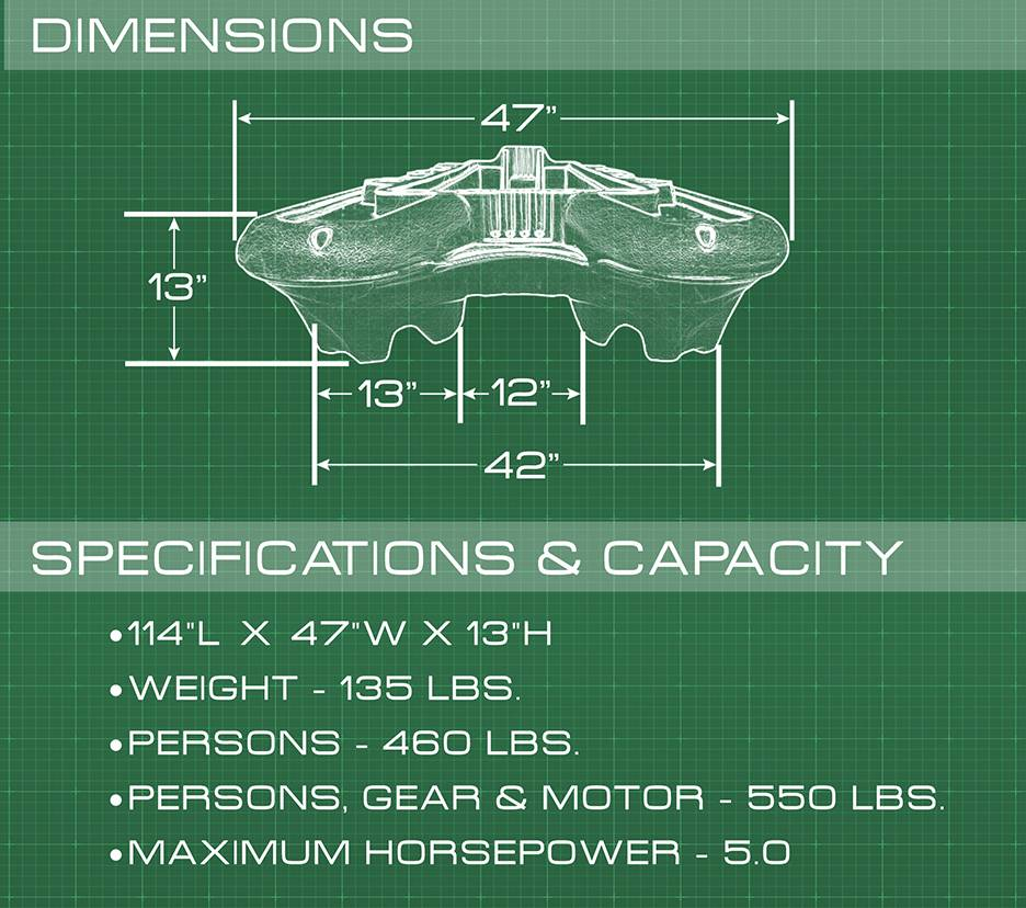 EX Boat by Bass Hunter Specifications