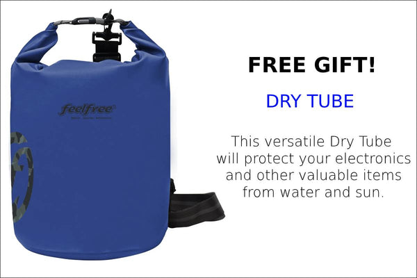 DRY TUBE- FREE GIFT-  3 WATERS KAYAKS