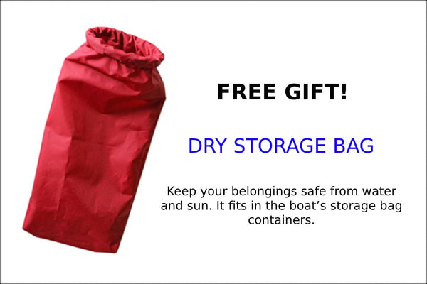 FREE GIFT- BASS HUNTER- DRY STORAGE BAG