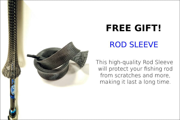 FREE GIFT- ROD SLEEVE- ENOX SERIES BY ALX RODS