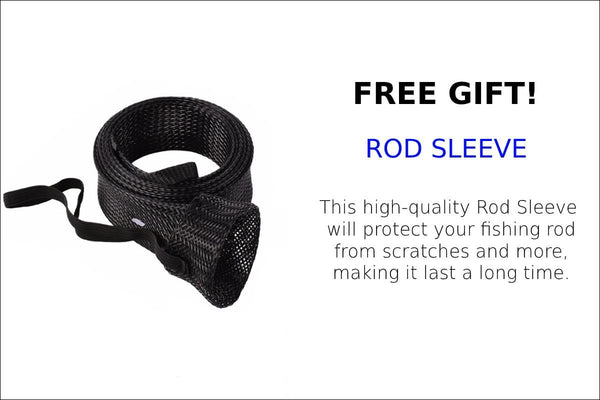 FREE GIFT- ROD SLEEVE- SEEKER