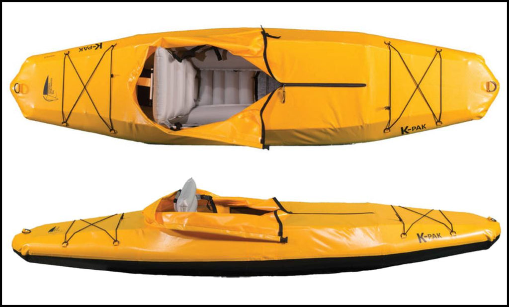 K-PACK FOLDING CO FOLDING KAYAK THAT FITS IN TRUNK OF A CAR