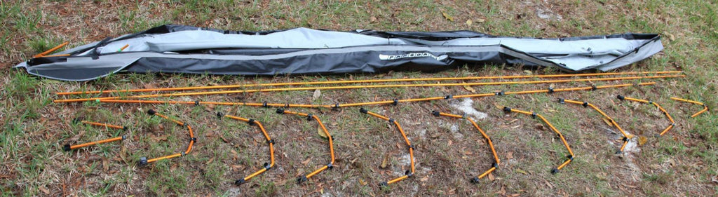 ASSEMBLY OF FOLDING KAYAK PUFFIN BY PAKBOATS