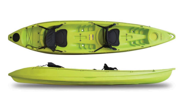 ROAMER 2 ll Seastream Kayaks 12 ft Lime Green