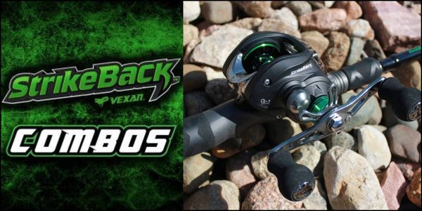 VEXAN STRIKE BACK ROD AND REEL COMBO