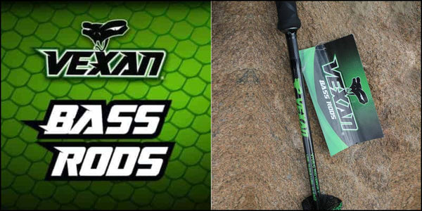 VEXAN BASS RODS