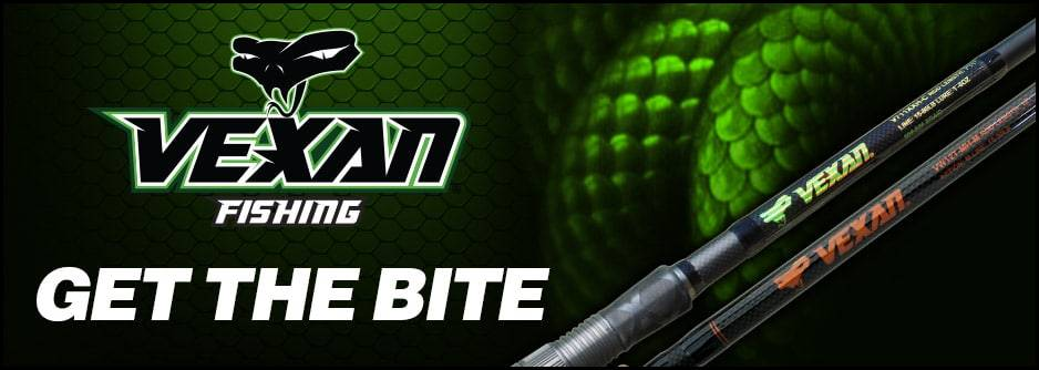 VEXAN FISHING RODS- GET THE BITE- BANNER