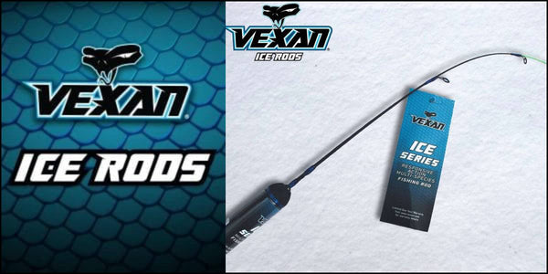 VEXAN ICE FISHING RODS