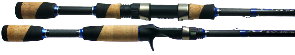 FISHING RODS SIDE VIEW