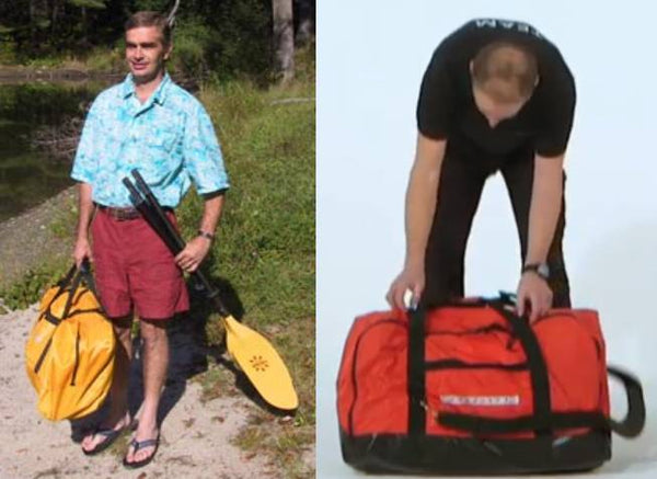 FOLDING KAYAK COMPACT ENOUGH TO FIT IN ANY CAR OR VEHICLE