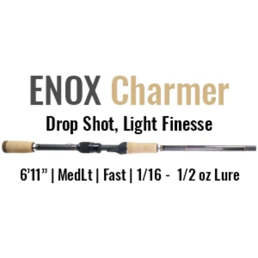 ENOX Charmer Spinning Rod by ALX (Drop Shot, Light Finesse) - ALX Rods
