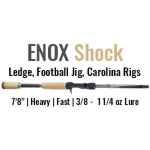 ENOX Shock Casting Rod by ALX (Ledge, Football Jig, Carolina Rigs) - ALX Rods