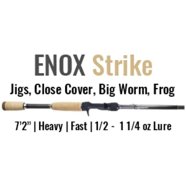 ENOX Strike Casting Rod by ALX (Jigs, Close Cover, Big Worm, Frog)