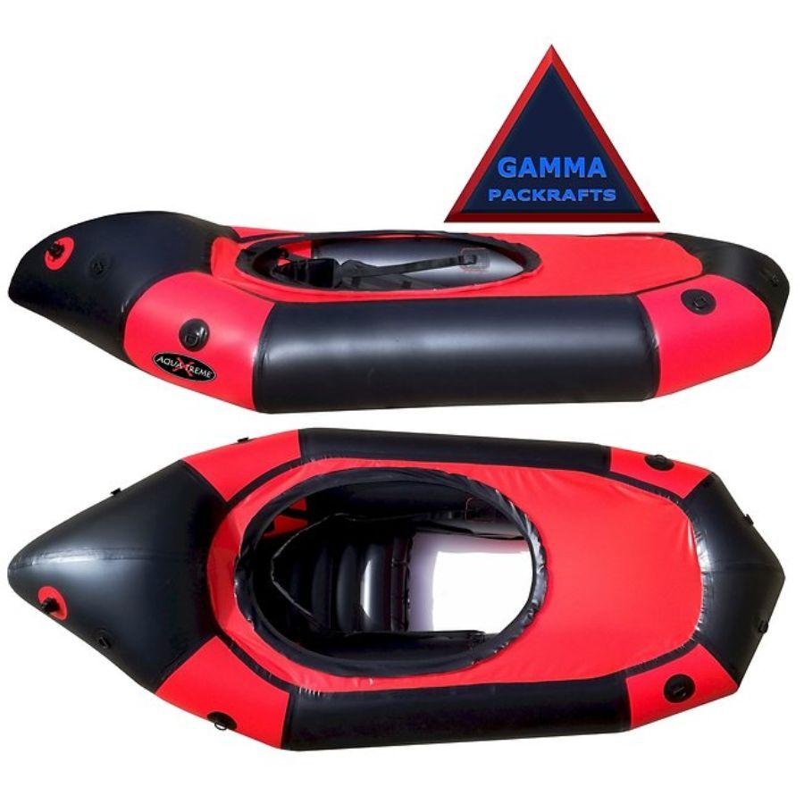 Gamma Packraft by Aqua Xtreme (Adventure Packraft)-with Cockpit - Aqua Xtreme