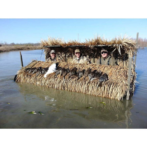 Gator Trax Boats- Gator's Nest Blind 10x47- 3 Persons