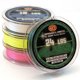 Gliss- Line 24 Pound Test 1500 Yard Spool- Green - Reel Fishermen