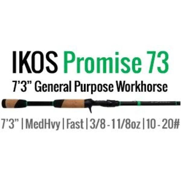IKOS Promise 73 Casting Rod by ALX (General Purpose Workhorse) 7'3