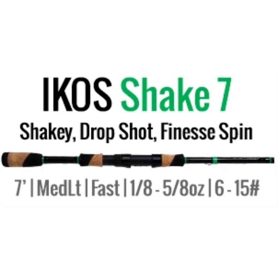 IKOS Shake 7 Spinning Rod by ALX (Shakey, Drop Shot, Finesse Spin) - ALX Rods