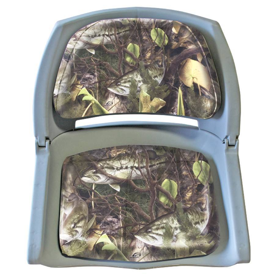 Padded Folded Seat by Bass Hunter - Reel Fishermen