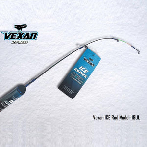 "Vexan Sight Fisherman's Special Ice Fishing Rod 18"" Ultra Light (UL) Solid Glass - Reel Fishermen"