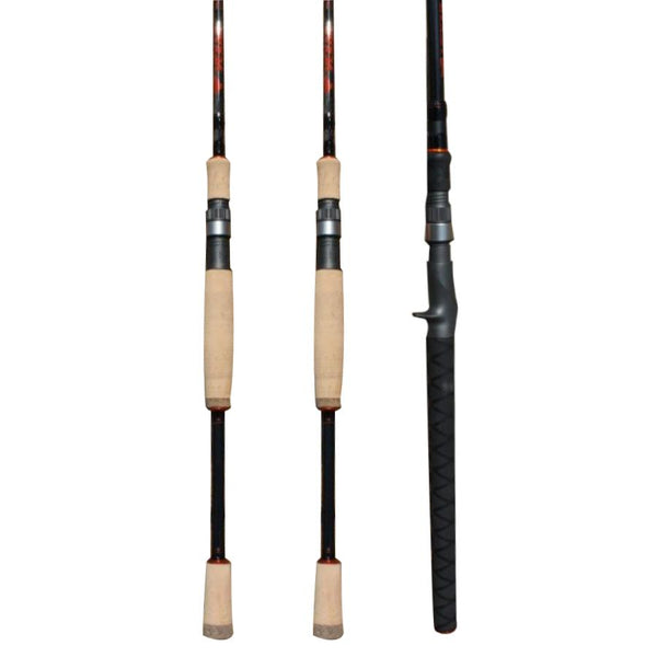 Walleye Fishing Specialized Fishing Rod/Pole Bundle Arsenal (3 Rods) by Vexan