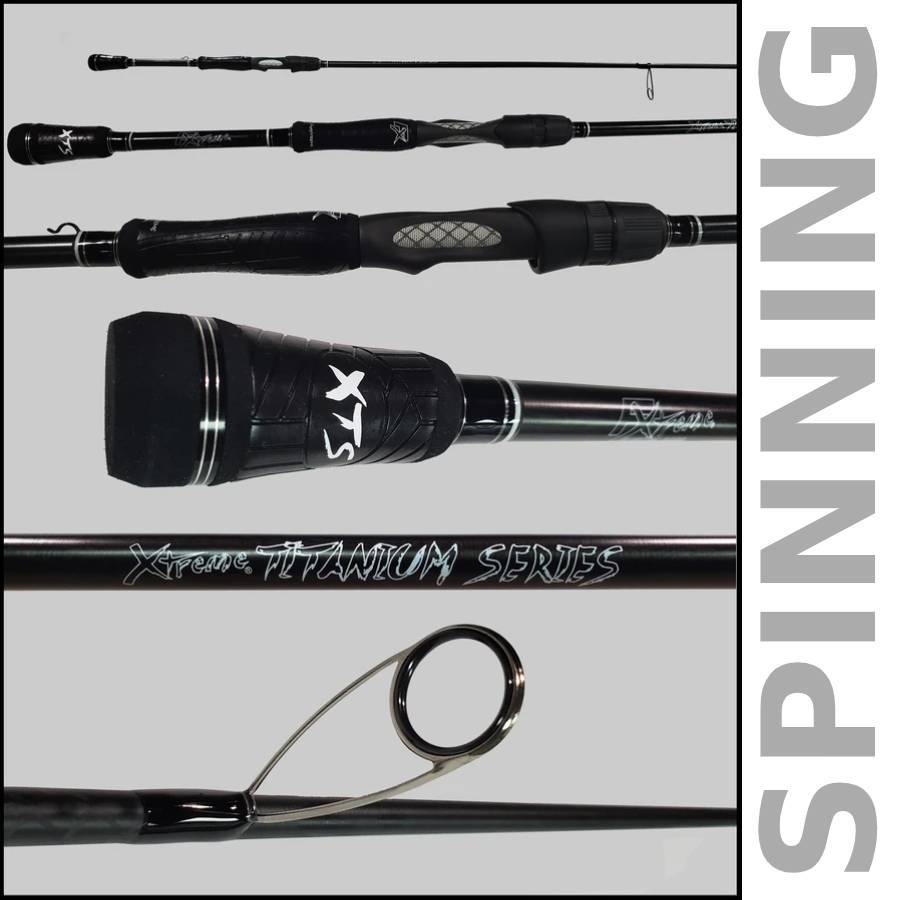 Xtreme Titanium Rod Series by FX Custom Rods (Casting and Spinning) - FX Custom Rods