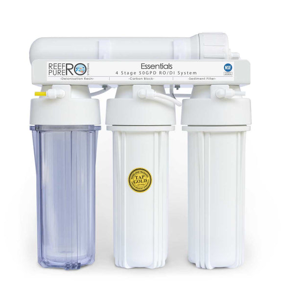 Reef Pure - 4 Stage 190 LPD  Essentials   RO / DI System