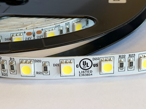 SMD5050 Cool White Flexible LED Strip - 5m Roll