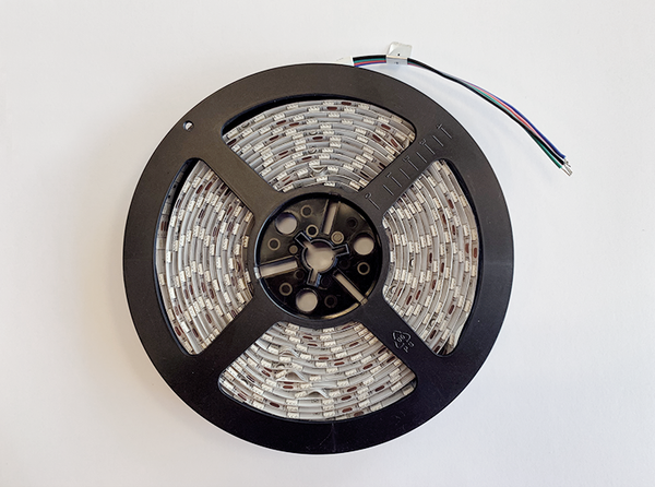 SMD5050 (Double Row) RGB Flexible LED Strip - 5m Roll