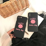 Carcasa deTelefon, Pentru iPhone, model Happy Every Day