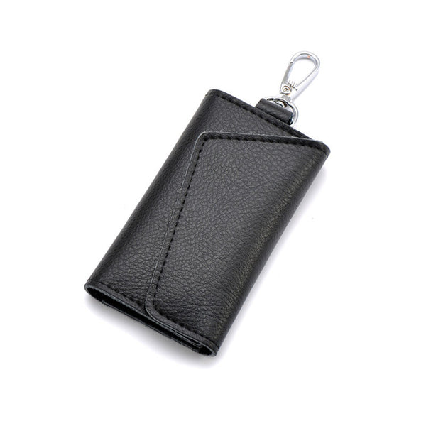 Men's Leather Car Key Bag Multi-function Key Bags