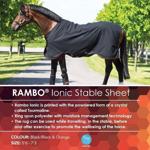 Rambo Ionic Stable Sheet