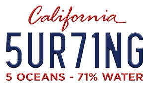 Surfing 5 Oceans - 71% Water