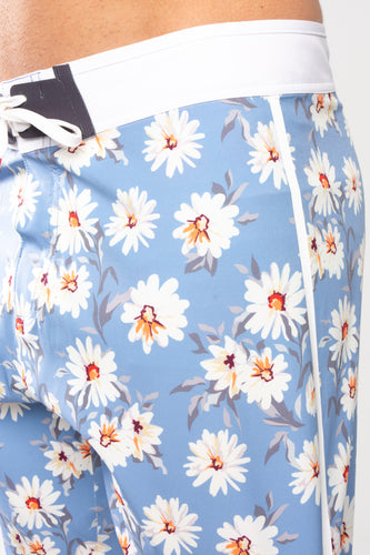 Navy Daisy Board Shorts - 5UR71NG.com Surfing apparell eco surf california 5 oceans