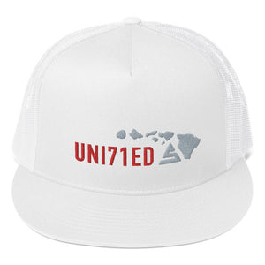 Hawaii Trucker Cap - 5UR71NG.com Surfing apparell eco surf california 5 oceans