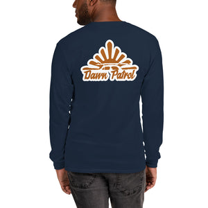 Dawn Patrol Long Sleeve T-Shirt - 5UR71NG.com Surfing apparell eco surf california 5 oceans
