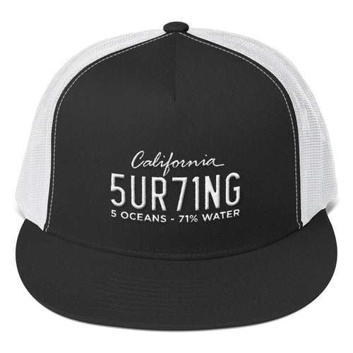 Trucker Surfing Cap - 5UR71NG.com Surfing apparell eco surf california 5 oceans